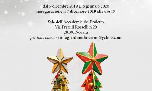 """Al Broletto di Novara un """"Giardino d'Inverno"""" con alberi di Natale di origami, acquarelli e Pop Art"""