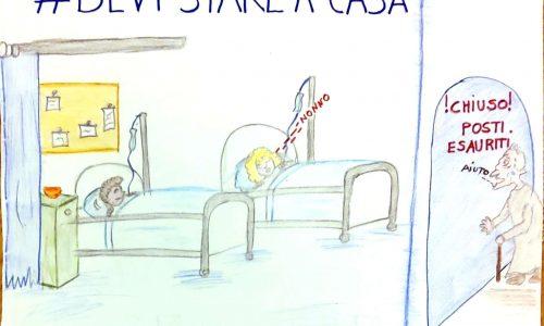 #DEVI STARE A CASA