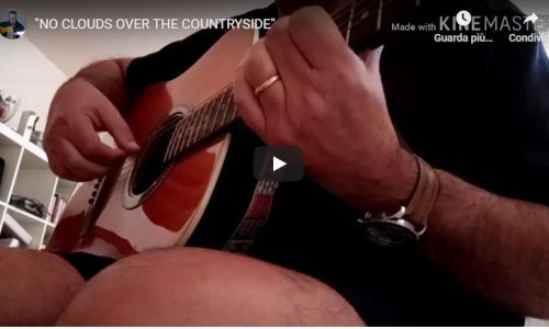"""No clouds over the countryside"", il nuovo acustico dell'artista Alberto Diamanti"