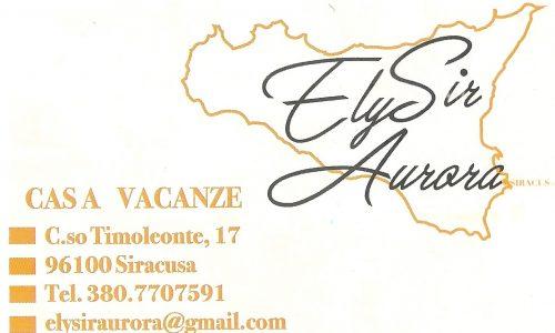 """""""ElySir Aurora"""", una soluzione ottima e confortevole per il tuo soggiorno a Siracusa"""