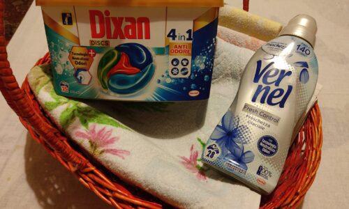 Perlana Sport, Dixan antiodore e Vernel Fresh Control: un trio perfetto per un bucato pulito, fresco e profumato