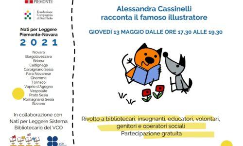 """Il 13 maggio incontro online organizzato dalla Biblioteca di Novara: """"Attilio: fiabe, storie e piccoli lettori"""""""
